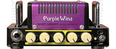 Large view Micro Guitar Amplifier Head - HOTONE Purple Wind Nano Legacy -
