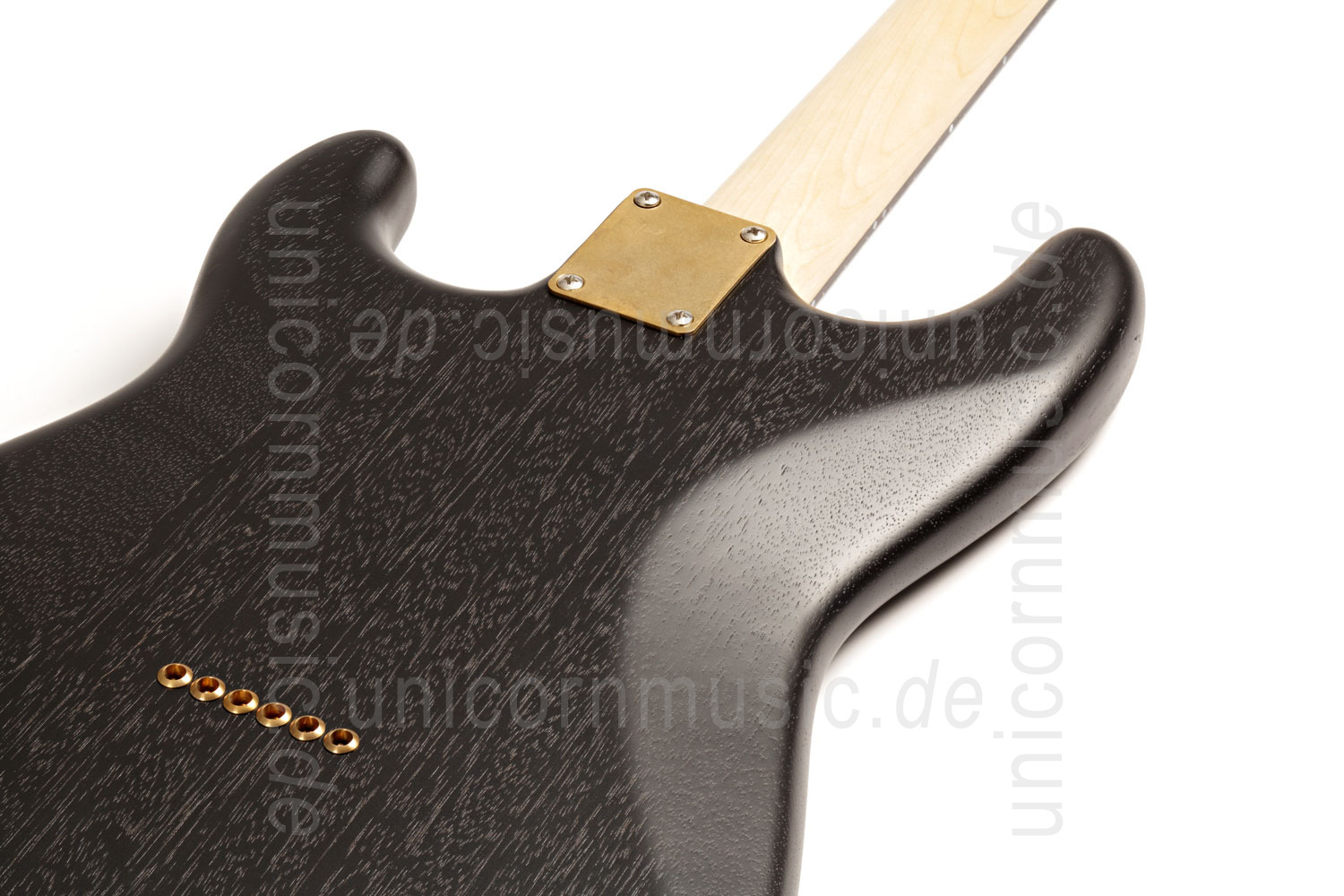 to article description / price Electric Guitar BERSTECHER Vintage 2018 - Black / Floral Amber + hard case - made in Germany