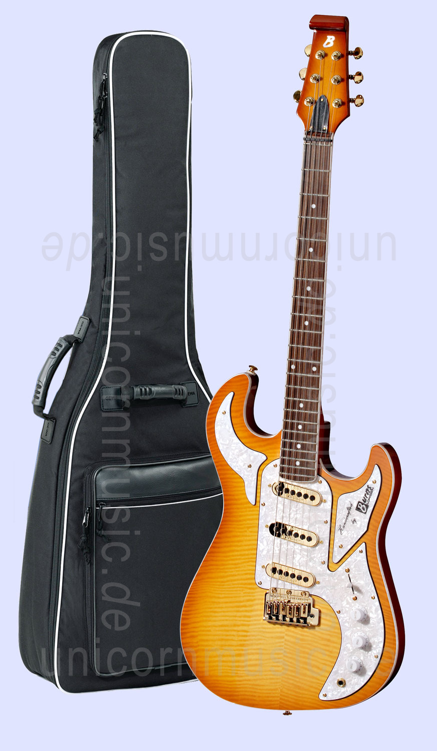 to article description / price Electric Guitar BURNS SHADOW SPECIAL - honeyburst