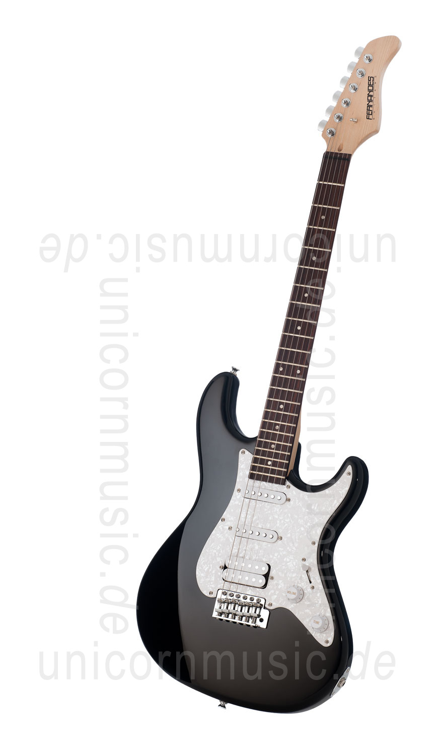 to article description / price Electric Guitar FERNANDES RETROROCKET X - SSH Version - Black