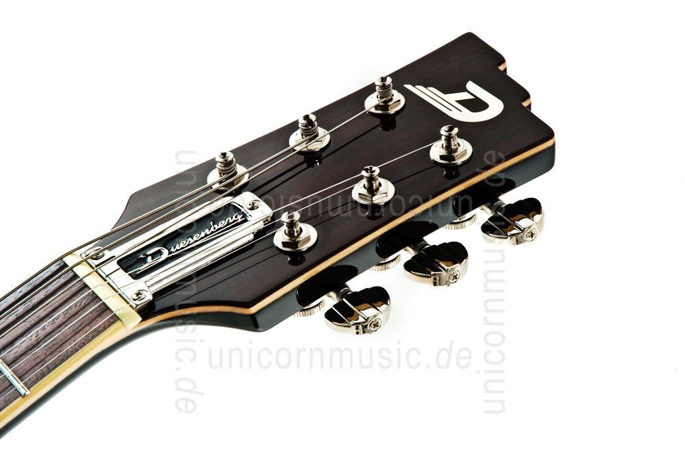 Electric Guitar Headstock Electric Guitar Duesenberg