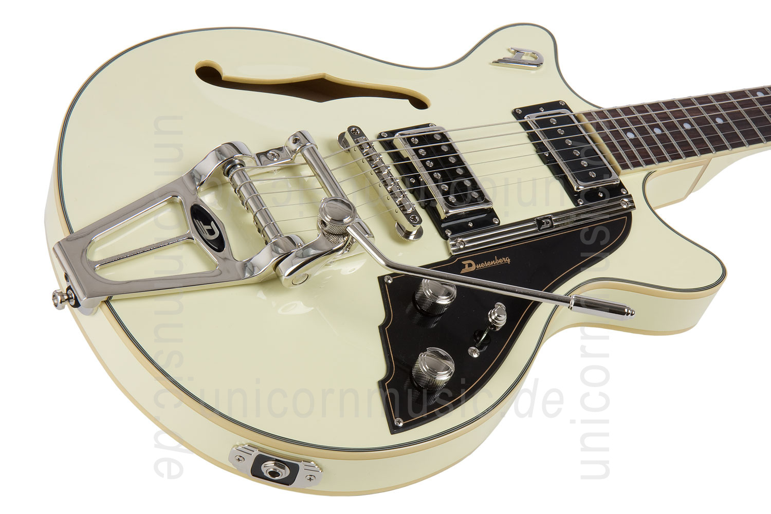 to article description / price Electric Guitar DUESENBERG STARPLAYER TV FULLERTON - Vintage White All Over + Custom Line Case