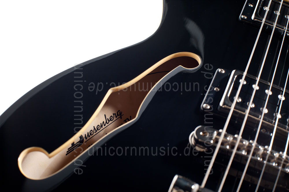 to article description / price Electric Guitar DUESENBERG STARPLAYER TV - BLACK - left hand + Custom Line Case