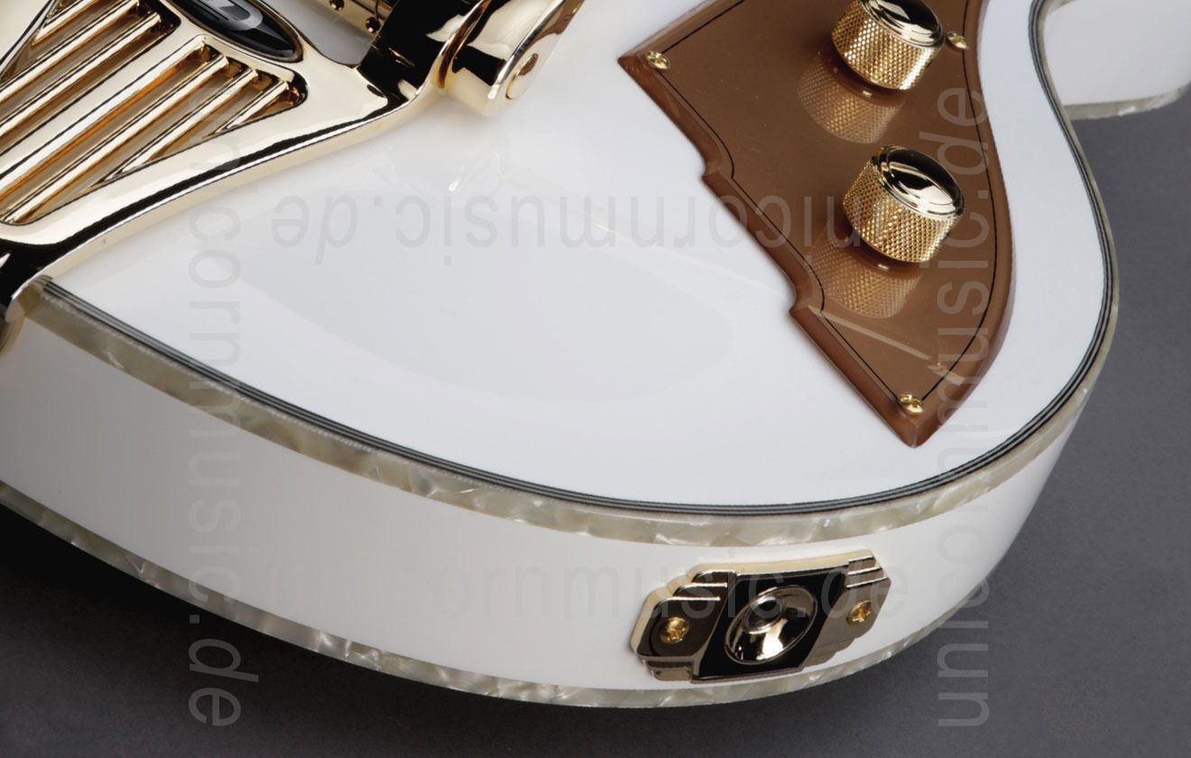to article description / price Electric Guitar DUESENBERG STARPLAYER TV - PHONIC - Venetian White + Custom Line Case