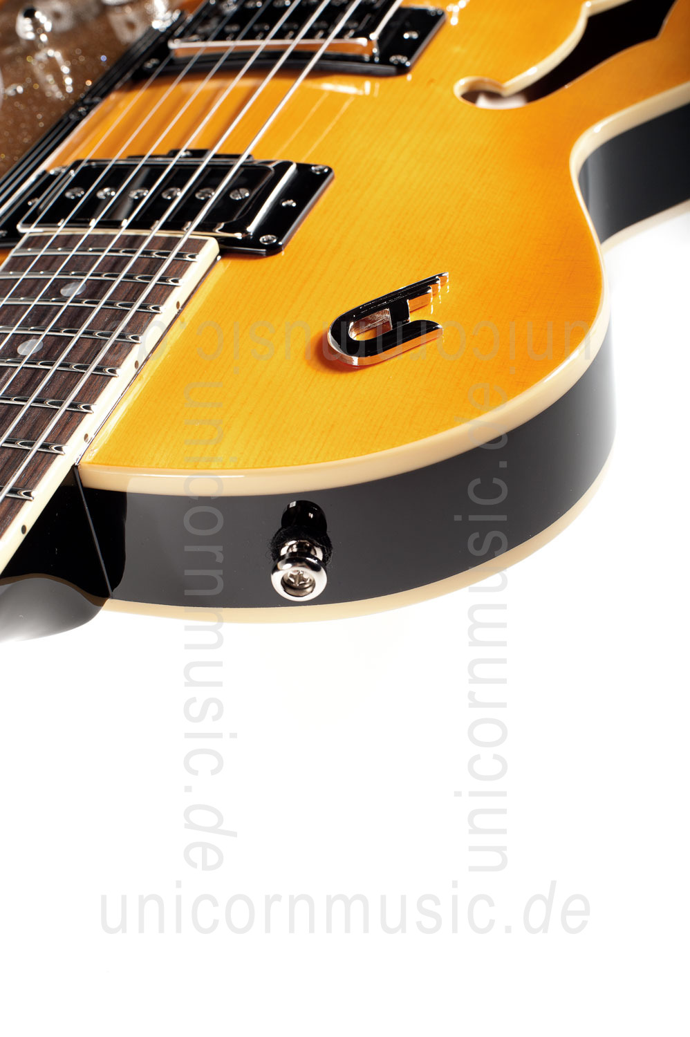 to article description / price Electric Guitar DUESENBERG STARPLAYER TV - Trans-Orange + Custom Line Case