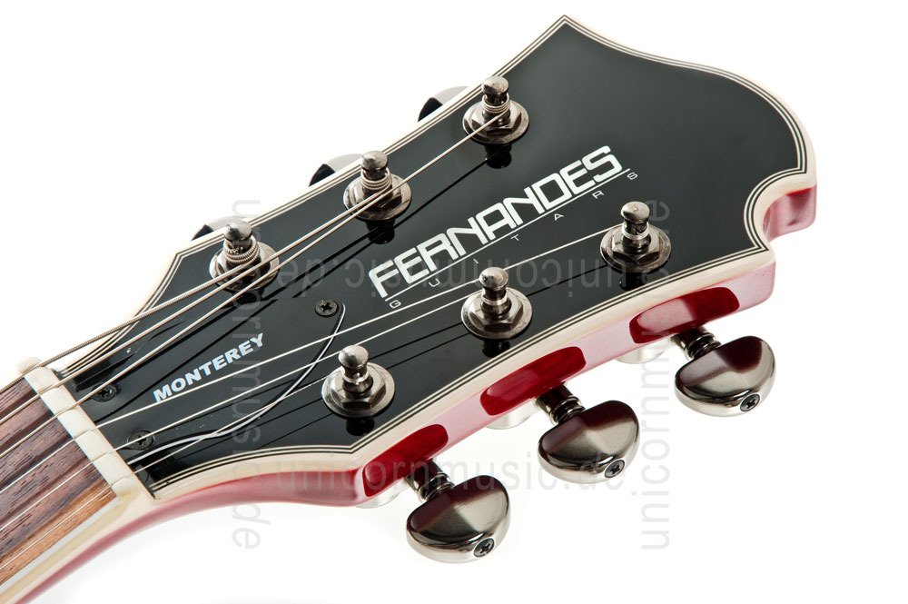 Electric Guitar Headstock Electric Guitar Fernandes