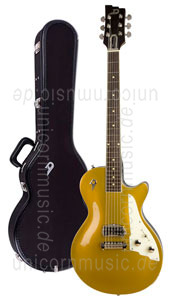Large view Electric Guitar DUESENBERG 52er - Gold Top + Custom Line Case