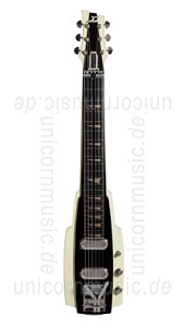 Large view Electric Guitar DUESENBERG ALAMO LAPSTEEL - Ivory + Custom Line Case