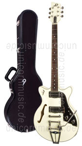 Large view Electric Guitar DUESENBERG STARPLAYER TV FULLERTON - Vintage White All Over + Custom Line Case
