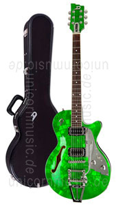 Large view Electric Guitar DUESENBERG STARPLAYER TV - Emerald Green LTD (Mother of Pearl)