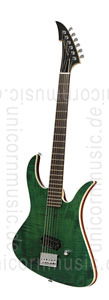 Large view Electric MGH GUITARS Blizzard Beast Standard Supreme - dark green + softcase - made in Germany