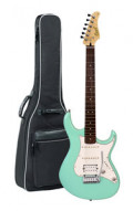 Electric Guitar CORT G260 DX - See Foam Green