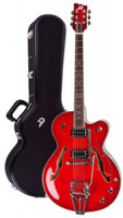 Electric Guitar DUESENBERG IMPERIAL - Red Burst + Custom Line Case