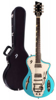 Electric Guitar DUESENBERG JULIA - NARVIK BLUE + custom line case