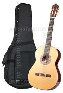 Large view Spanish Flamenco Guitar CAMPS PRIMERA NEGRA - all solid - spruce top