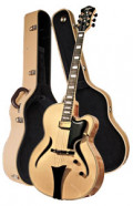 Full-Resonance Archtop Jazz Guitar HOFNER JAZZICA CUSTOM HJC-N-0 + hardcase -solid spruce top