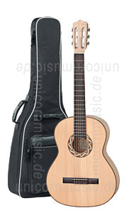 Large view Children's Guitar 3/4 - PRO NATURA Silver Series - solid top - cherrywood