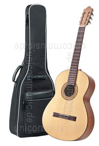 Large view Spanish Classical Guitar CAMPS SON-SATIN S - solid solid spruce top