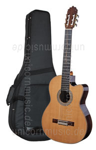 Large view Spanish Classical Guitar JOAN CASHIMIRA MODEL 130 Cutaway Cedar - without pickup - solid cedar top