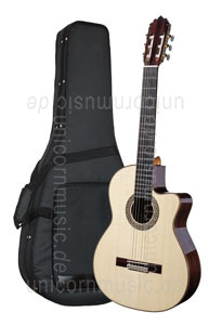 Large view Spanish Classical Guitar JOAN CASHIMIRA MODEL 130 Cutaway Spruce - without pickup - solid spruce top