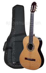 Large view Spanish Classical Guitar JOAN CASHIMIRA MODEL 2A Cedar- all solid - cedar top + Softcase