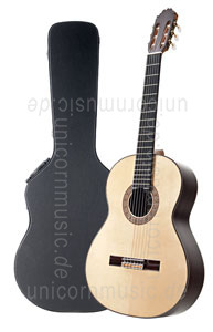 Large view Spanish Classical Guitar HERMANOS SANCHIS LOPEZ Model 1 EXTRA CONCIERTO - all solid - spruce top + case