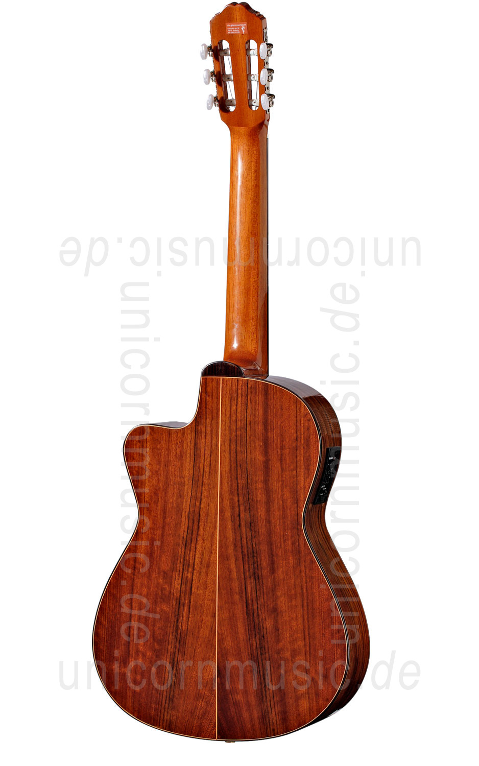 to article description / price Spanish Classical Guitar VALDEZ MODEL 3E/CE - Electro - Cutaway - solid top + sides