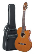 Spanish Classical Guitar JOAN CASHIMIRA MODEL 56e E-C Cutaway Thinline - without pickup - solid cedar top