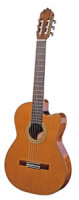 Spanish Classical Guitar JOAN CASHIMIRA MODEL 56e E-CE Cutaway Thinline + L.R. Baggs Pickup - solid cedar top