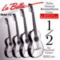 Children's- Classical Guitar Strings Set 1/2 - LA BELLA 112 - normal Tension