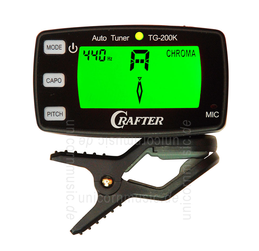 Crafter TG-200K /· Accordatore
