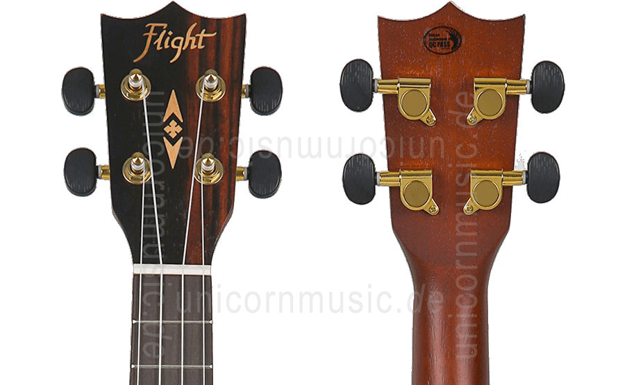 to article description / price Concert Ukulele - FLIGHT DUC 460 - Amara + gigbag