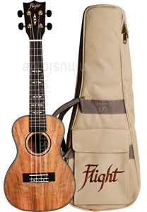 Large view Concert Ukulele - FLIGHT DUC 450 - Mango + gigbag