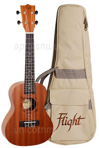 Large view Concert Ukulele - FLIGHT NUC 310 - Sapele Wood + gigbag