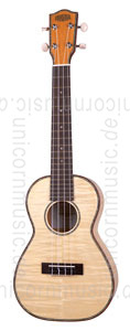 Large view Concert Ukulele - MOANA CK-55 MDXG - Maple - laminated + gigbag