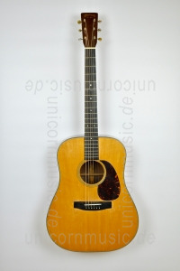 Large view Acoustic Guitar MARTIN D-18 (1942) - Dreadnought Model - Engelmann spruce top - all solid + hardcase