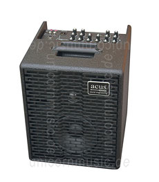 Large view Acoustic Amplifier - ACUS ONE 6 Black - 3x channel (2x instrumental / independently controllable