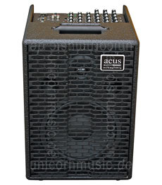 Large view Acoustic Amplifier - ACUS ONE 8 Black - 4x channel (3x Instrumental / independently contrallable)