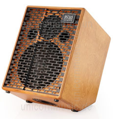 Large view Acoustic Amplifier - ACUS ONE CREMONA - Wood - 4x channel (3x instrumental / independently controllable)