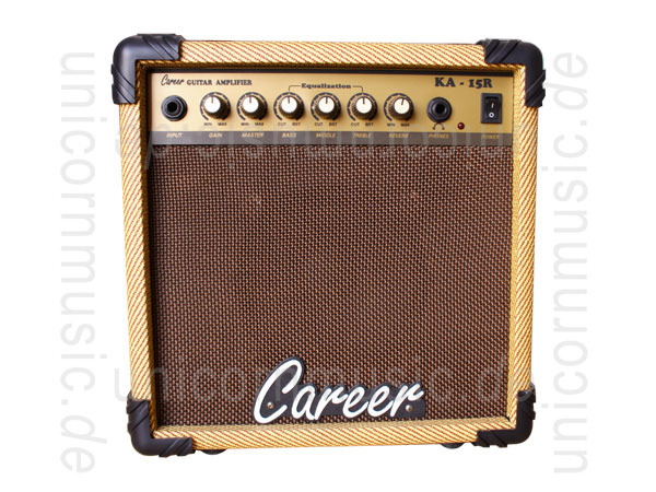 to article description / price Electric Guitar Amplifier CAREER KA-15R - Combo - Display Sample