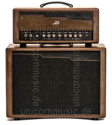 "Large view Electric Guitar Amplifier - DUESENBERG BERLIN - Top + 1x12"" Cabinet"