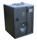 Acoustic Amplifier - ACUS ONE FOR STREET black - 3x channel (2x Instrumental / independently controllable) - integrated battery