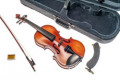 3/4 Violinset - GASPARINI MODEL PRIMO  - all solid - shoulder rest