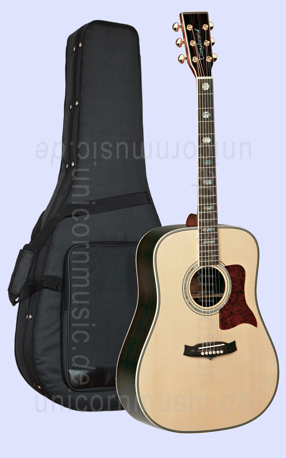 to article description / price Acoustic Guitar TANGLEWOOD TW1000-2 - Sundance Series - Dreadnought - all solid