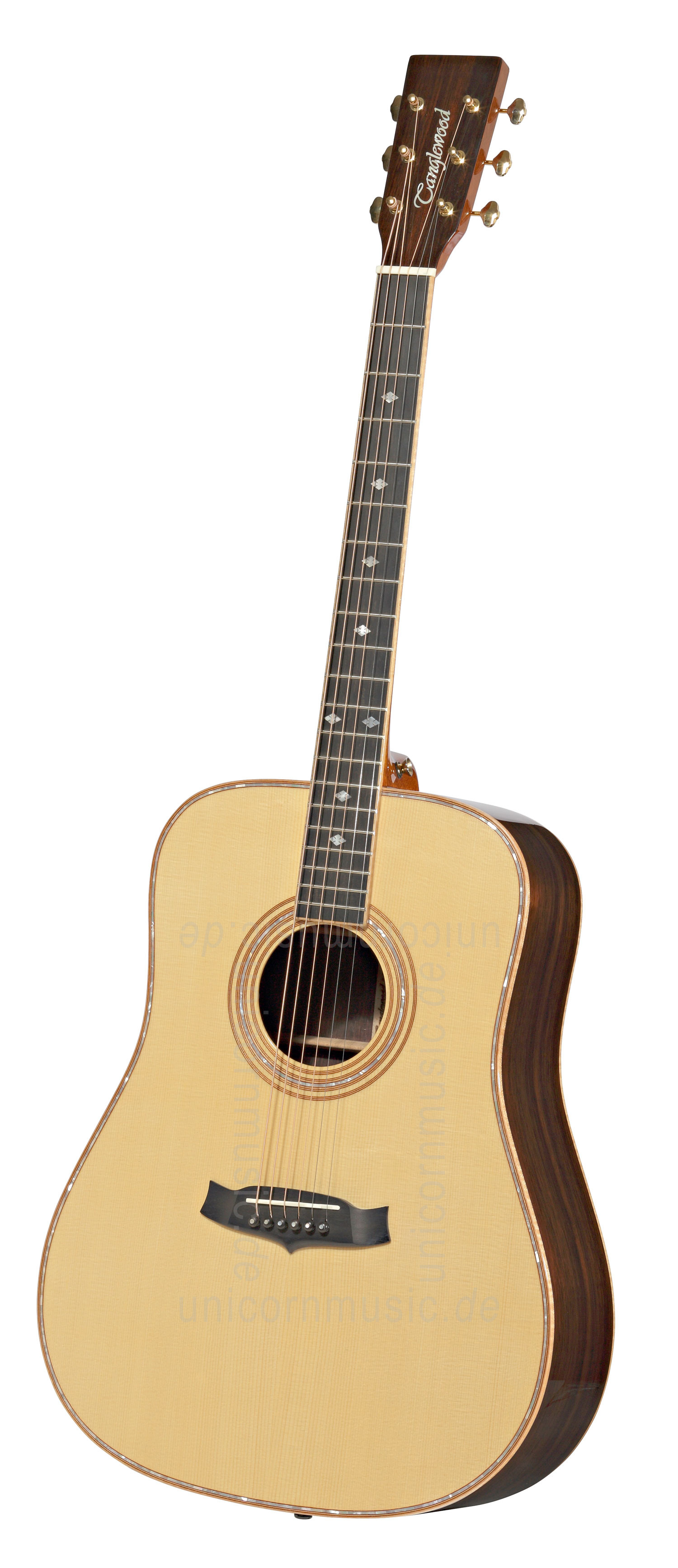 to article description / price Acoustic Guitar TANGLEWOOD TW90/MR ZC - Sundance Series - Dreadnought - all solid + hard case