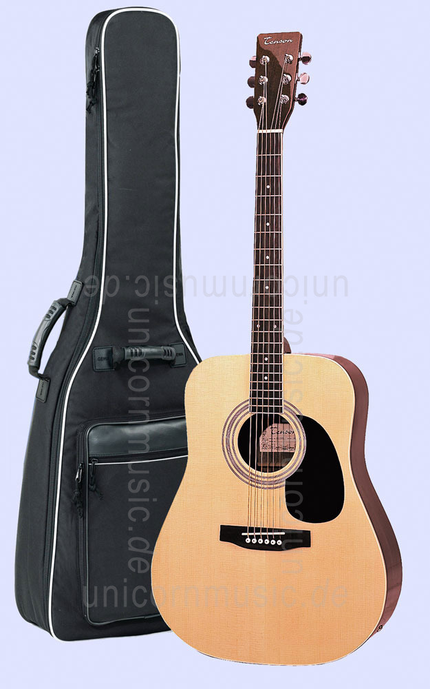 to article description / price Acoustic Guitar TENSON D12S - Dreadnought Electro - solid spruce top