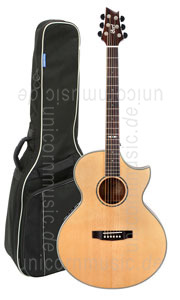 Large view Acoustic Guitar CORT NDX Baritone - solid spruce top