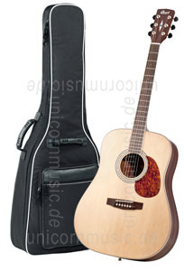 Large view Acoustic Guitar CORT EARTH 100 NS - Dreadnought - solid spruce top