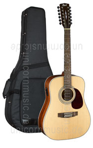 Large view Acoustic Guitar CORT EARTH 70-12E OP - Fishman Sonicore - Dreadnought - solid spruce top