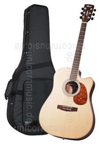 Large view Acoustic Guitar CORT MR 710-F NS - Dreadnought - Fishman - Cutaway - solid spruce top